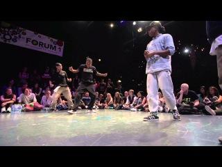 FLAVOURAMA 2013 - SEMIFINAL HIPHOP - Batalla & Marcio Ratinho vs. Franky Dee & Snu Dee