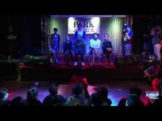 Waacking Final Battle - MC JO (KR) vs Chrissy (TW)   20150404 All Asia Waacking Festival Final