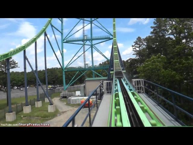 Kingda Ka On Ride Six Flags Great Adventure