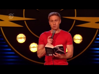 Russell howard proving that british accents aren't sexy