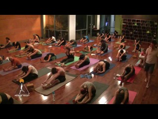 FULL Yin Yoga class (60 min.) with Travis Eliot