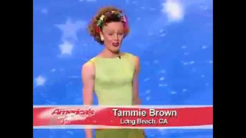 TaMMie Brown on America's Got Talent