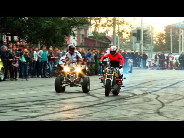 Дрифт стант шоу Краснодар ролик FullHD