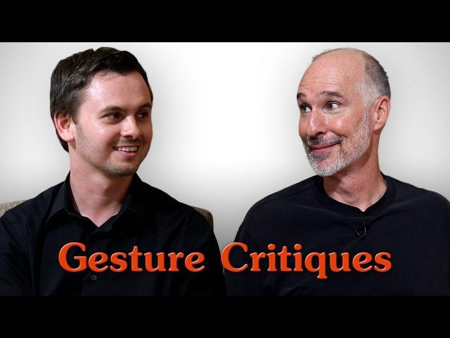 Figure Drawing Critiques 1 - Gesture