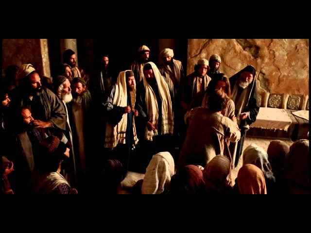 Иисус исцеляет человека одержимого злым духом