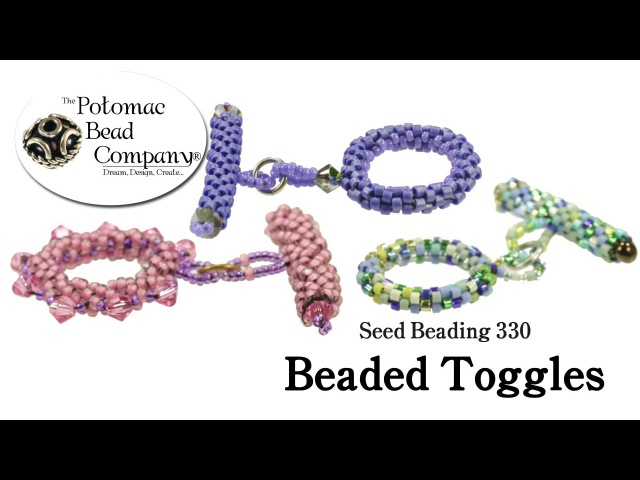 How to Make Beaded Toggle Clasps Seed Beading 330