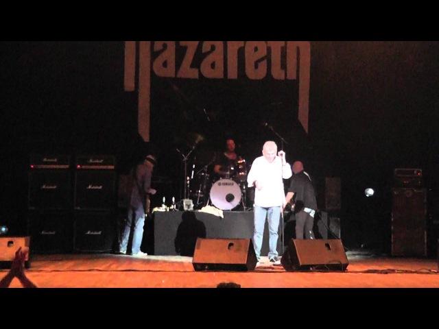 Nazareth (Live Concert, Russia, Ekaterinburg, 05.10.2012)