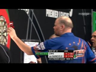 Adrian Lewis v Raymond van Barneveld (2015 Premier League Darts / Week 13)