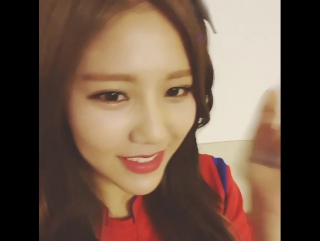 2015 east asian cup interview - aoa hyejeong