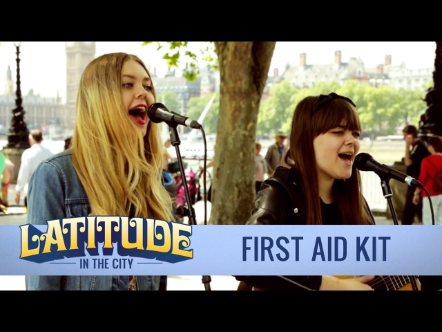 First Aid Kit 'My Silver Lining' acoustic London Southbank Latitude in the City