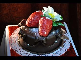 Шоколадная мастика домашнего приготовления (Chocolate paste)
