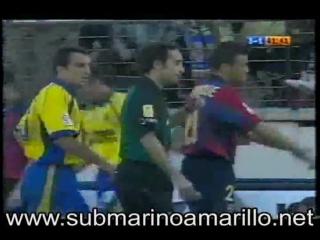 Чемпионат Испании 2000 - 2001 / Вильярреал - Барселона 4:4