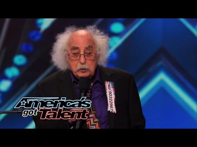 Ray Jessel 84 Year Old Sings a Naughty Original Song America's Got Talent 2014