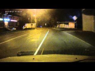 Задержание BMW X5 сбившей 2-х девушек в Краснодаре