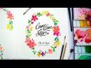 Watercolor Wedding Invitation Greeting Card by Jay Art