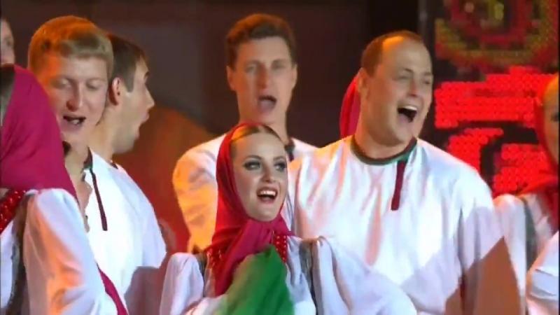 Vitebsk Bazaar July 2011 - Хор имени Пятницкого Pyatnitsky Choir