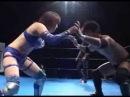 Kana VS Munenori Sawa mixed gender pro-wrestling match in Japan 華名vs澤宗紀