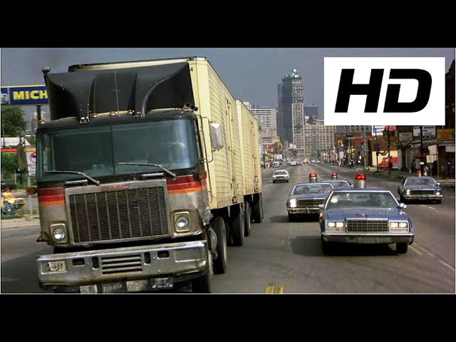 Beverly Hills Cop 1984 Opening Truck chase
