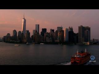 Aerial footage of new york, las vegas, los angeles, and desert show reel hd