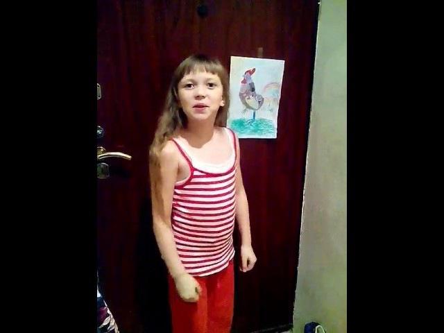 Алиса Курчева Чтение стихотворения Ю Мориц Нарисованный петух