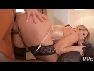 Nikky dream (let's go deeper two studs fuck secretary up her asshole) 2017 (anal, cum on ass, handjob, hardcore, порно, секс)