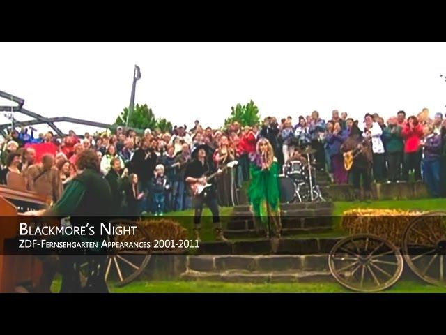 Blackmore's Night ZDF Fernsehgarten Appearances 2001 2011