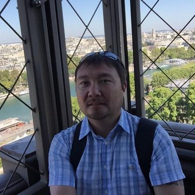 Рисунок профиля (Азамат Тлеубаев)
