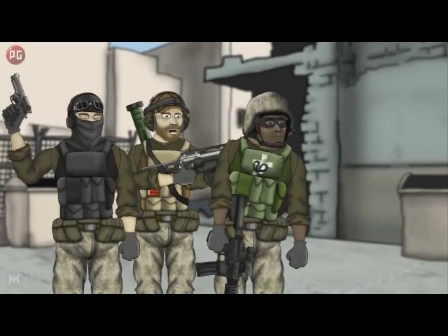 Друзья по Battlefield 2 сезон 9 Битва нубов