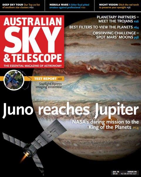 Australian Sky & Telescope - July 2016 vk.com