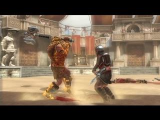 Гладиаторы 3Д: Арена и Кровь. Промо бой