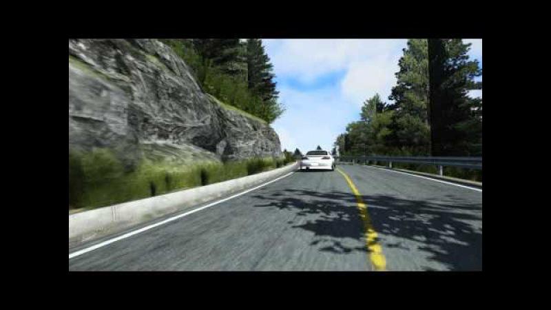 Touge 22.01.16 Akina Downhill Driftcore vs Eugene Barbakar