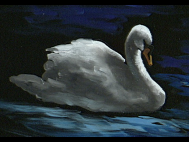 The Beauty of Oil Painting, Series 1, Episode 11, Swan at Lithia Park