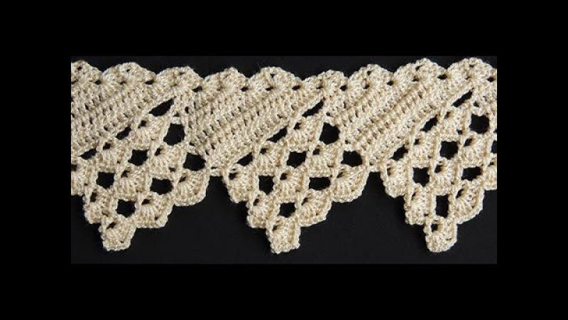 Crochet : Borde 16