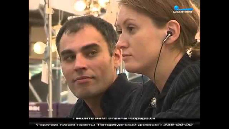 Спектакль Кентерберийские рассказы в гипермакете Максидом Санкт Петербург 2015 г