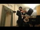 Ф Шуберт Соната для скрипки и фортепиано ля мажор соч 162 D 574 Даниил Коган скрипка Анна Тамаркина фортепиано