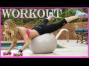 Bunny Slope Workout 10 - Swiss Ball Exercises