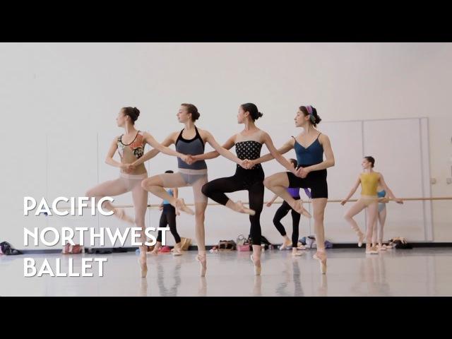 Swan Lake - Pas de Quatre (Dance of the Small Swans) rehearsal