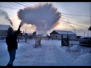 56°C (-69°F) from Yakutsk to Oymyakon in winter - THE MOVIE [HD] 2015