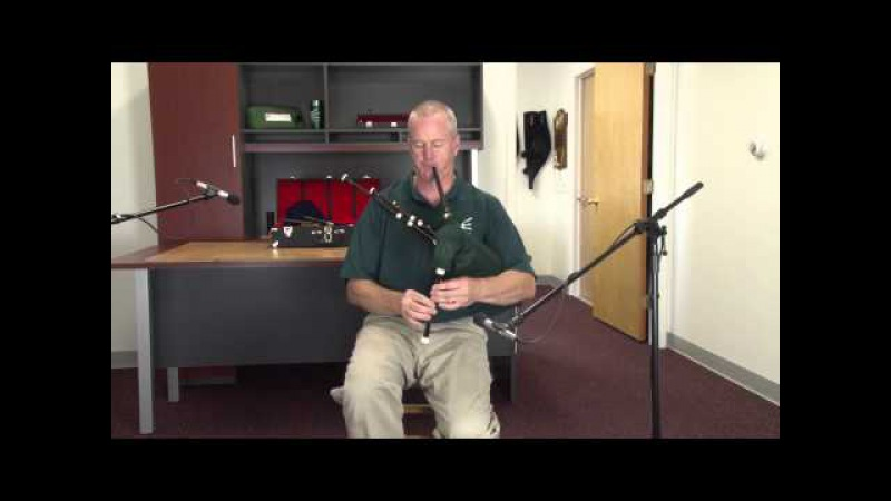 Hector the Hero on Shepherd Smallpipes in the Key of D