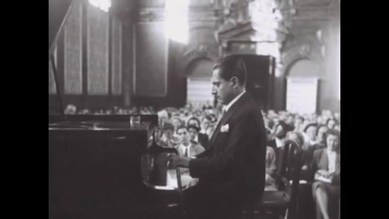 Dinu Lipatti plays Mozart Sonata in a-moll, K310, at his last recital