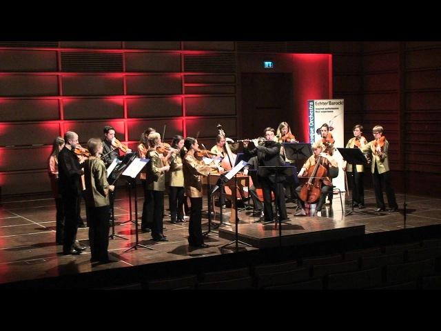 EUBO 2011 performs GPh Telemann Concerto in e minor for flute violin and strings TWV52 e3