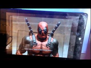 Qumo Vega 8009w тестирование игры Deadpool