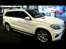 2014 Mercedes Benz GL Class GL550 4Matic Exterior and Interior Walkaround 2014 NY Auto Show