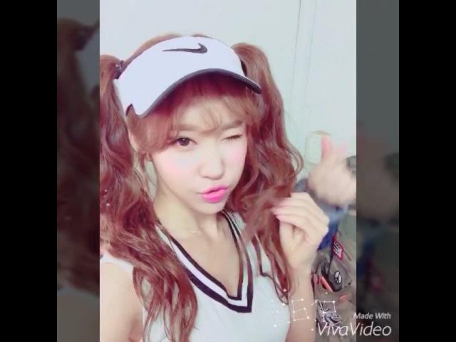 김민영 on Instagram 요즘 어플이 너무 좋아졌다 메롱 윙크 스페셜 엘린 테니스 화보