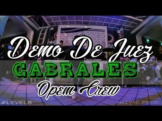CABRALES OPEM Demo De Juez FINALES ESTELARES LEVEL8 Durango Dgo
