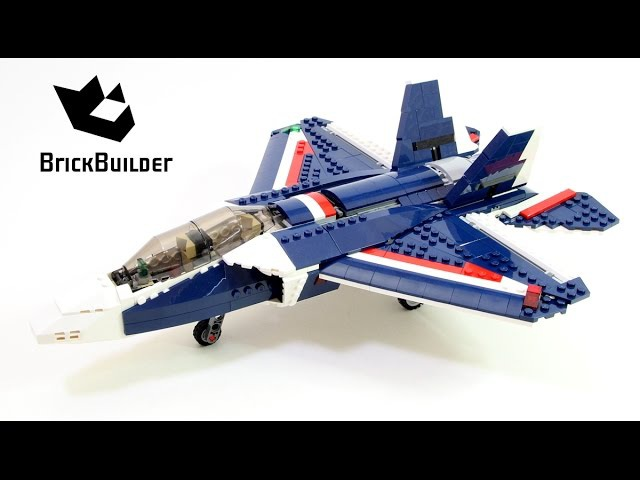 Lego Creator 31039 Blue Power Jet - Lego Speed Build