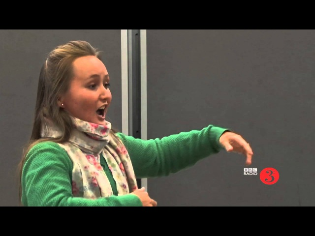 Julia Lezhneva sings Porpora s Alleluia Live in the In Tune Studio