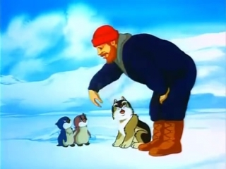 Приключения пингвинёнка Лоло 1986. художественный веселый мультфильм.
