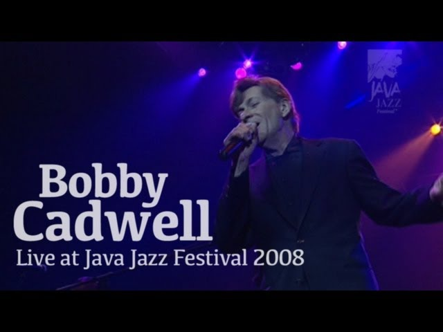 Bobby Caldwell What You Won't Do for Love Live at Java Jazz Festival 2008
