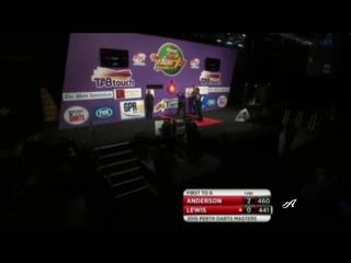 Gary Anderson vs Kim Lewis (Perth Darts Masters 2015 / Round 1)